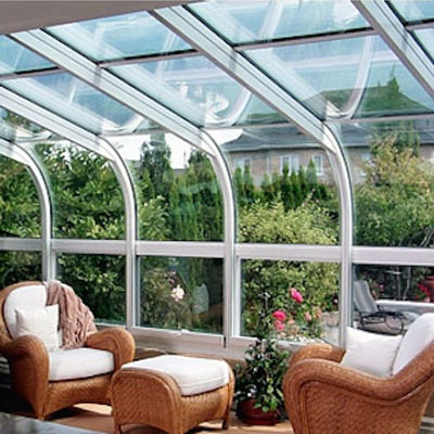 Craft-bilt Curved Sunroom