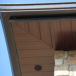 Soffit, fascia and eavestroughs