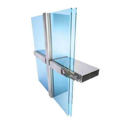 Curtain Wall Commercial Windows