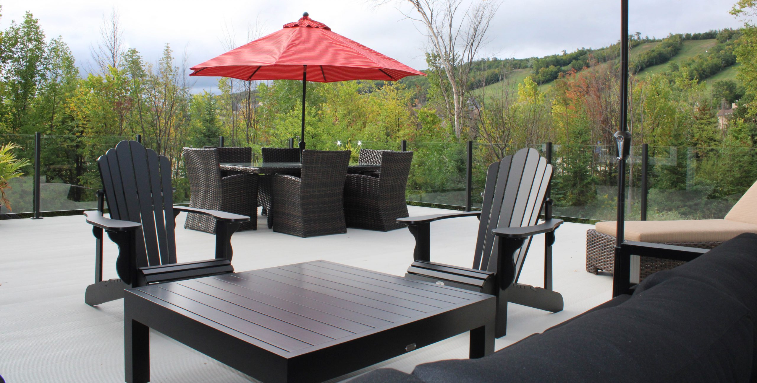 Blue Mountain Rooftop Patio