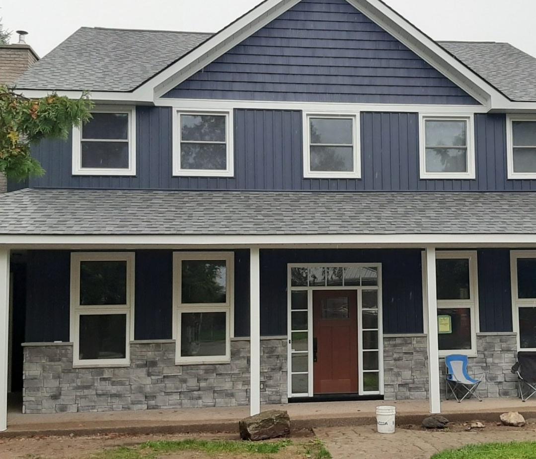 Kincardine Home Exterior Renovation