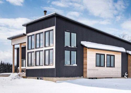 Scandinavian-Inspired Minimalist House